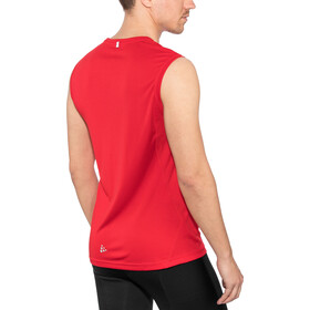 Craft Mind Sleeveless Herren bright red